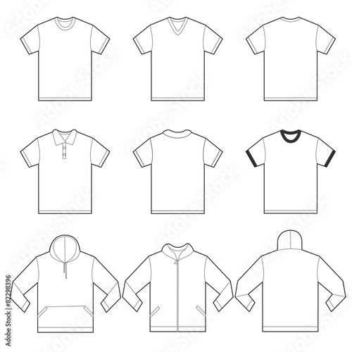 White Shirts Template - 82298396