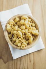 Italian pasta in a bowl