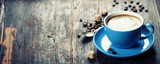 Blue coffee cup - 82299344