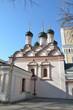 Постер, плакат: Церковь Софии Премудрости Божией в Москве 1682 год