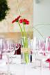 Leinwanddruck Bild - Tisch Deko Veranstaltung