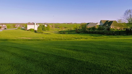 Rural neighborhood in Kentucky