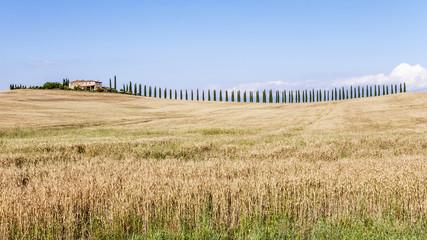 Agriturismo nella campagna toscana