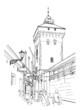 Krakow. Poland. Tower of city wall - 82306752