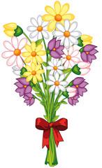 üppiger Blumenstrauß zum Muttertag