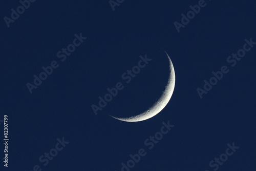 Aluminium Nacht Zunehmender, Mond, Mondsichel;