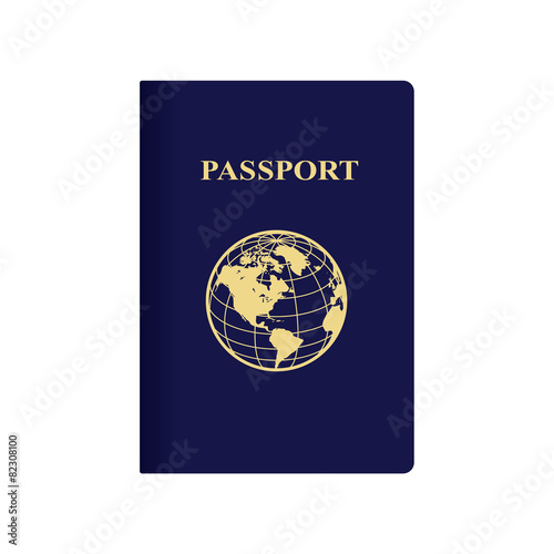 International blue passport - 82308100