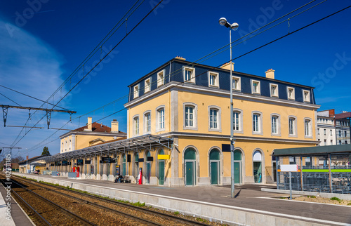 Foto op Canvas Treinstation Station of Bourg-en-Bresse - France, Rhone-Alpes