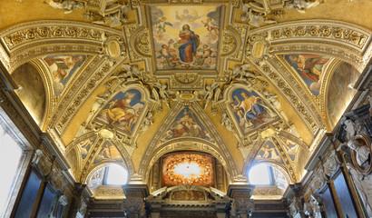 Santa Maria Maggiore ceiling in Rome