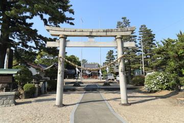 八橋日吉神社