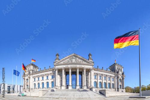 Fototapeta Deutscher Reichstag Berlin