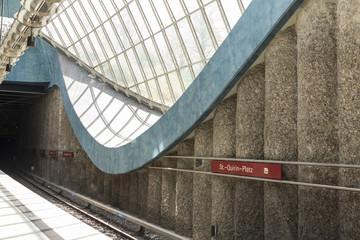 St.-Quirin-Platz subway Station