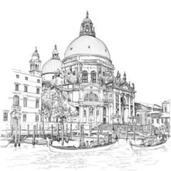 Venice - Cathedral of Santa Maria della Salute