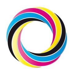 Farbkreis - cmyk