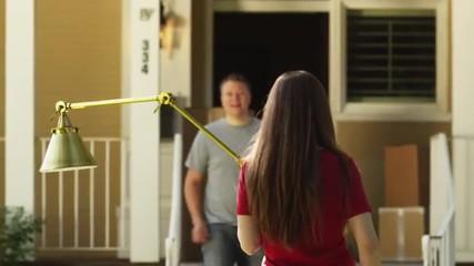 MS PAN Couple moving into house, Provo, Utah, USA