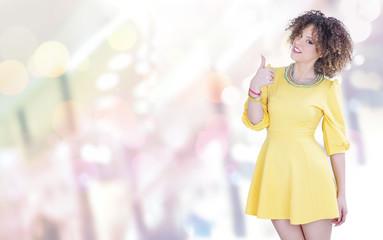 Shopping fashion color girl