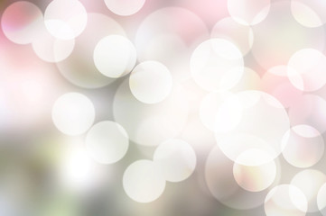 bokeh on pink shade background