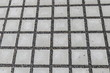 Leinwanddruck Bild - Wasserdurchlässiges Betonpflaster