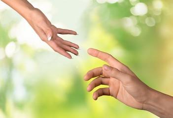 Human Hand. Helping hand