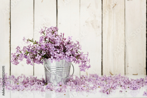 Foto op Canvas Lilac lilac flowers