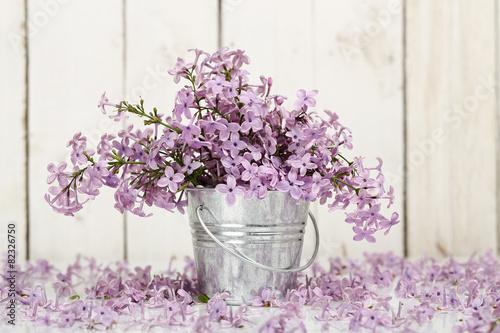 Foto op Canvas Lilac lilac flower