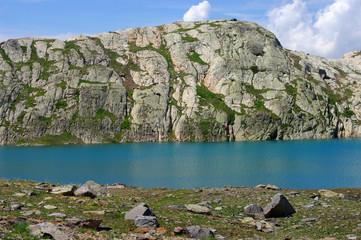 Lac à l'Alpe-d'Huez