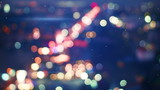 defocused lights of night traffic seamless loop 4k (4096x2304)