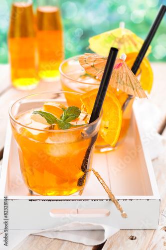 Orange lemonade. - 82328144