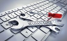 """Постер, картина, фотообои """"IT-Service"""""""