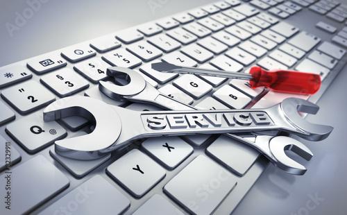 Zdjęcia na płótnie, fototapety, obrazy : IT-Service