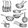 Set of frying pans - 82333735