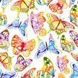 Watercolor_Butterfly_Pattern