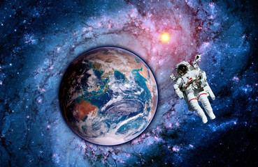 Astronaut Earth Space Spaceman
