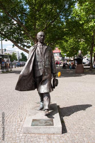 Leinwanddruck Bild Adenauerplatz Berlin