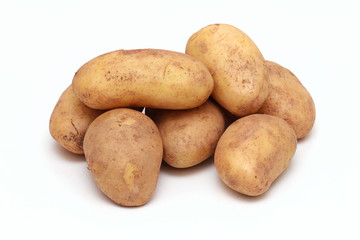 Old potatoes