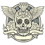 Fototapety Sugar skull