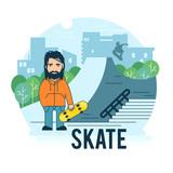 Skate park.