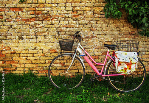 Bicycle Pink Bike