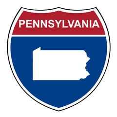 Pennsylvania interstate highway shield