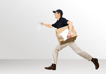 Delivering. Speedy Delivery
