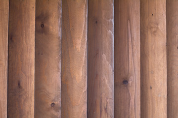 Background wall texture of light wood planks