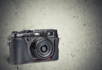 Camera. Old camera