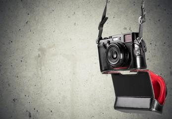 Camera. Hanging Rangefinder