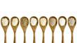 gluten free flour spoon set