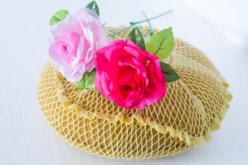 Sponge Cushion Rose