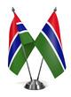 Постер, плакат: Gambia Miniature Flags