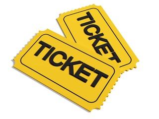 Ticket. 3D. Tickets
