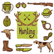 Hunting Icons Set - 82367154