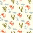 Watercolor seamless pattern - 82372350