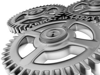 Gear. 3D. Machine Gears
